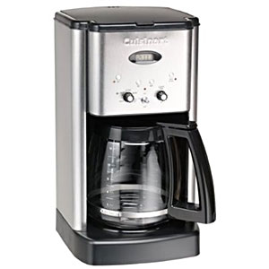 Cuisinart Coffee Maker Leaks When Pouring : Cuisinart 12 Cup Programmable Coffee Maker GeekInspired.com
